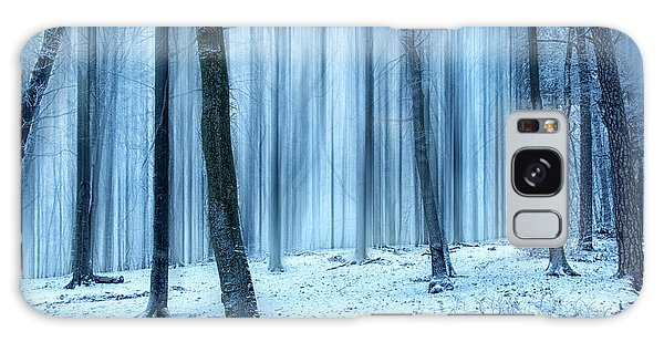 A Forest In Winter Galaxy Case