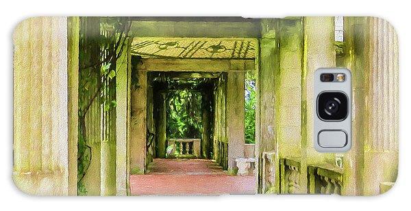 A Garden House Entryway. Galaxy Case