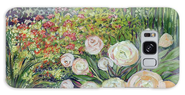 Impressionism Galaxy S8 Case - A Garden Romance by Jennifer Lommers