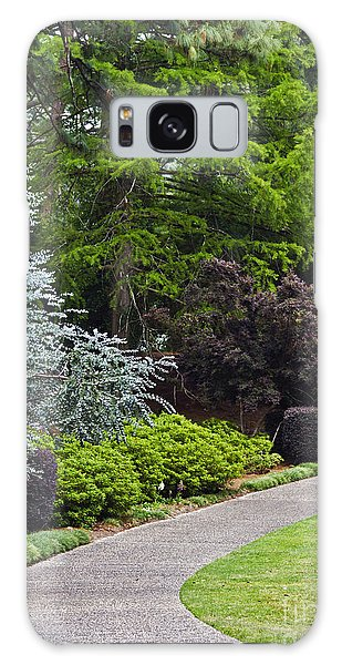 A Garden Walk Galaxy Case by Ken Frischkorn