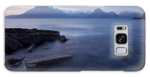A Gentle Sunset At Elgol  Galaxy Case