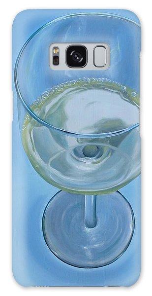 A Glass Of Wine Is Fine Galaxy Case
