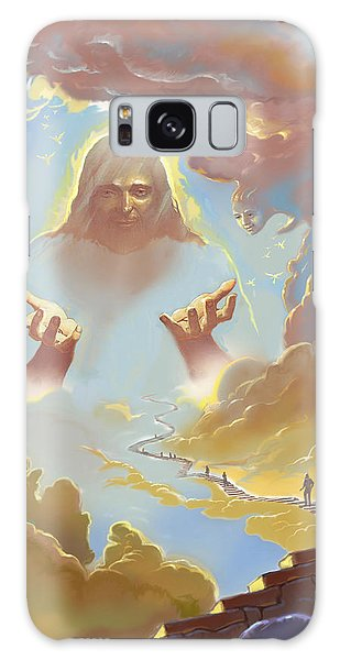 A Glimpse Into Heaven Galaxy Case by John Norman Stewart