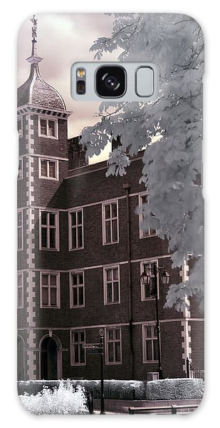 A Glimpse Of Charlton House, London Galaxy Case by Helga Novelli
