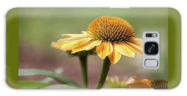 A Golden Echinacea -  Galaxy Case