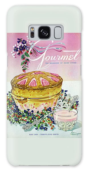 A Gourmet Cover Of A Souffle Galaxy Case