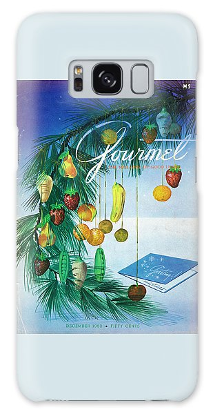 A Gourmet Cover Of Marzipan Fruit Galaxy Case