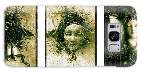 A Graft In Winter Triptych Galaxy Case