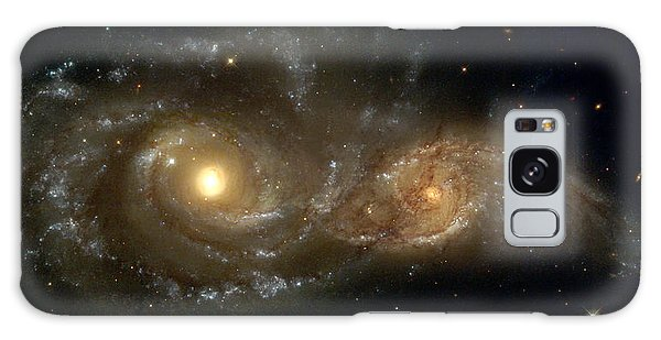 A Grazing Encounter Between Two Spiral Galaxies Galaxy Case