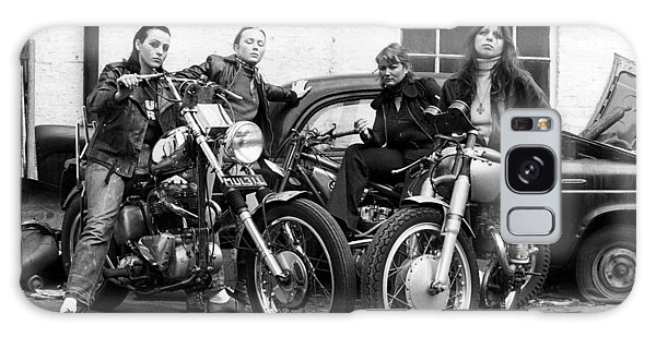 A Group Of Women Associated With The Hells Angels, 1973. Galaxy Case