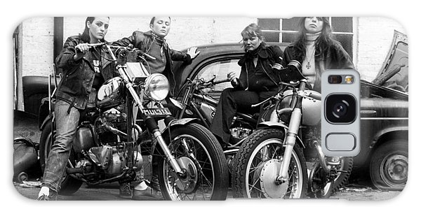 A Group Of Women Associated With The Hells Angels, 1973. Galaxy Case by Lawrence Christopher