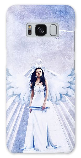 A Guardian Angel Will Attend Thee All Through The Night Galaxy Case