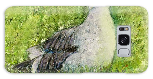 A Gull On The Grass Galaxy Case