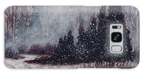 A Hazy Shade Of Winter  Galaxy Case