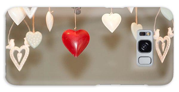 A Heart Among Hearts I Galaxy Case