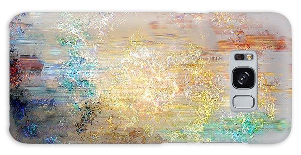 A Heart So Big - Custom Version 3 - Abstract Art Galaxy Case by Jaison Cianelli