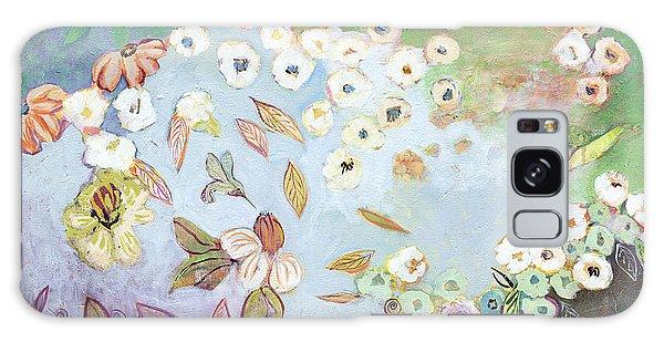 Hummingbird Galaxy S8 Case - A Hidden Lagoon by Jennifer Lommers