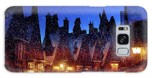 A Hogsmeade Christmas Galaxy Case
