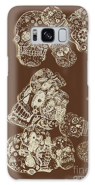 Skulls Galaxy Case - A Holiday Inversion  by Jorgo Photography - Wall Art Gallery