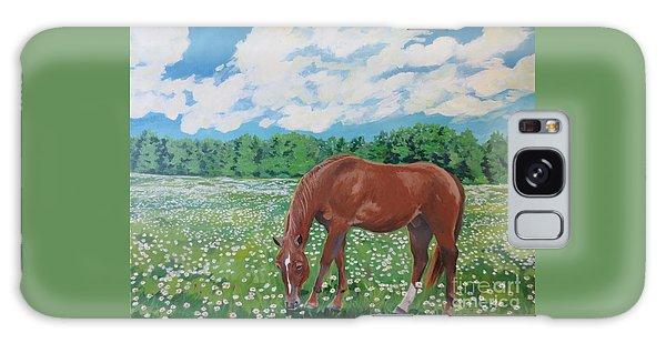 A Horse Named Dante Galaxy Case