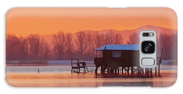 A Hut On The Water Galaxy Case