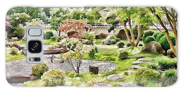 A Japanese Zen Garden Galaxy Case