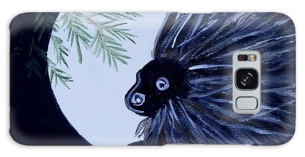 A Knight In The Woods Galaxy Case