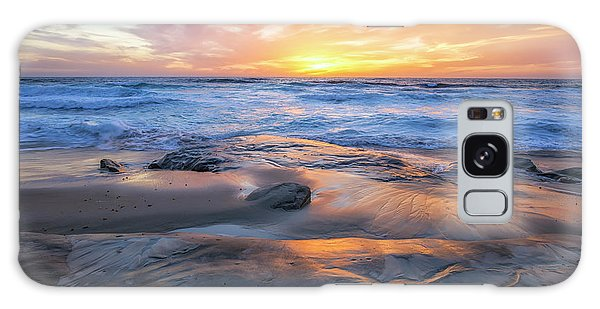 A La Jolla Sunset #1 Galaxy Case