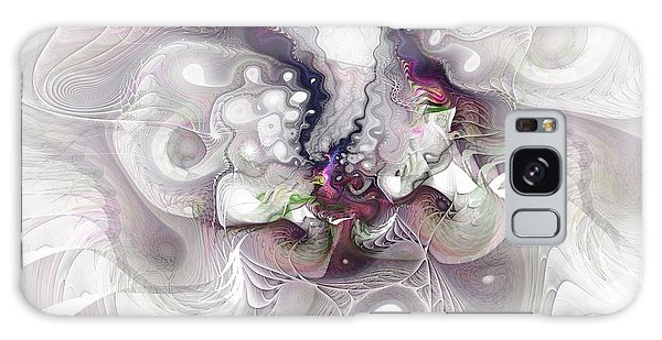 A Leap Of Faith - Fractal Art Galaxy Case