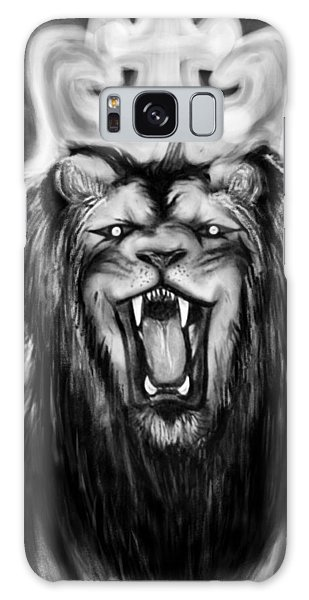 A Lion's Royalty B/w Galaxy Case