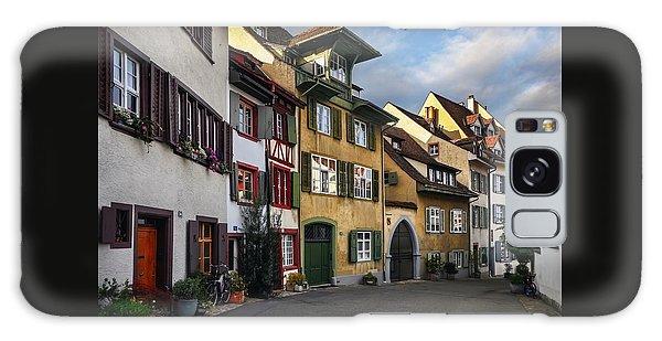 A Little Swiss Street Galaxy Case by Carol Japp