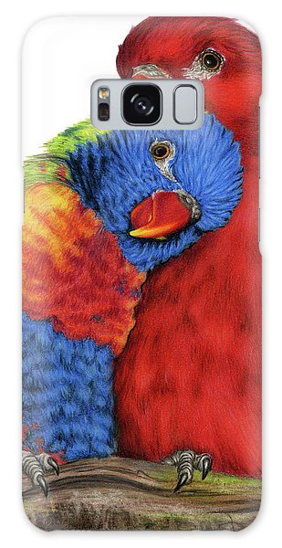 Parakeet Galaxy Case - Love Will Keep Us Together by Sarah Batalka