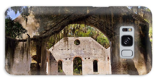 A Look Into The Chapel Of Ease St. Helena Island Beaufort Sc Galaxy Case