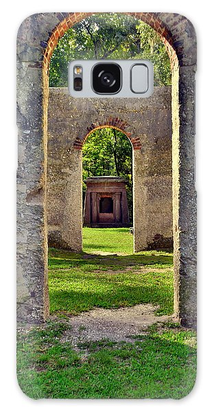 A Look Through Chapel Of Ease St. Helena Island Beaufort Sc Galaxy Case