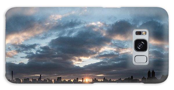 A Manhattan Sunset Galaxy Case