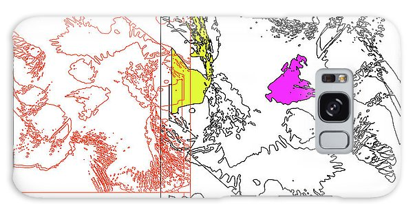 A Map Of Irises Galaxy Case