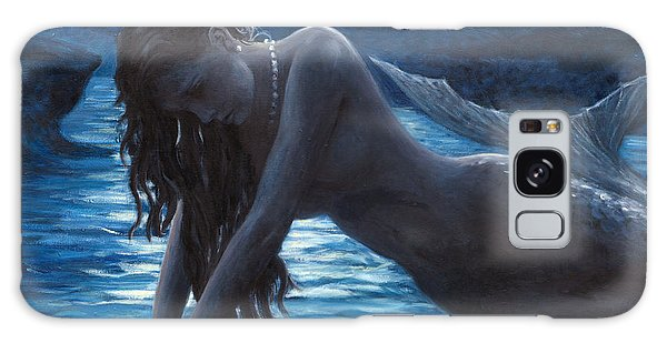 Lady Galaxy Case - A Mermaid In The Moonlight - Love Is Mystery by Marco Busoni