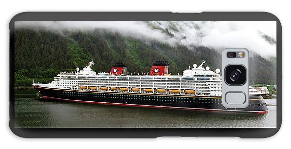 A Mickey Mouse Cruise Ship Galaxy Case