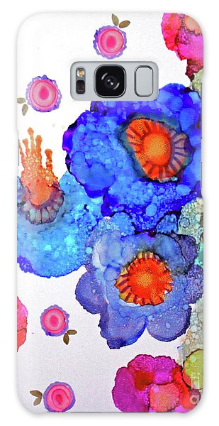 Galaxy Case featuring the painting A Midsummer Dream II by Priti Lathia