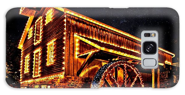 A Mill In Lights Galaxy Case