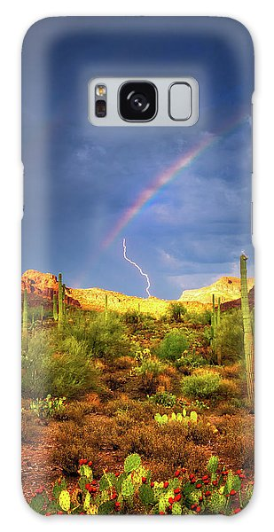 Galaxy Case featuring the photograph A Miracle Of Timing by Rick Furmanek
