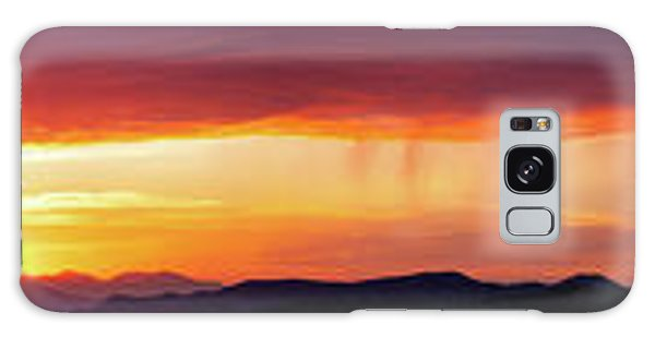 Galaxy Case featuring the photograph  A Moment In Time by Rick Furmanek