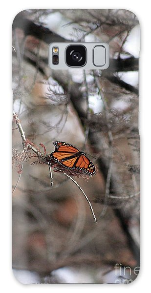 A Monarch For Granny Galaxy Case by Alycia Christine