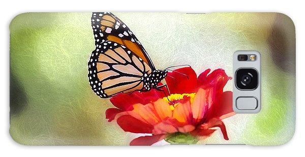 A Monarch Moment Galaxy Case