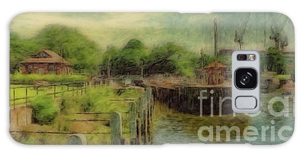 A Morning At Teddington Lock Galaxy Case