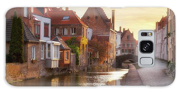 A Morning In Brugge Galaxy Case by JR Photography