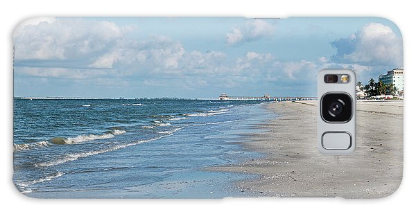 A Morning Walk On Fort Myers Beach Fort Myers Florida Galaxy Case