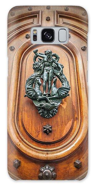 A Most Unusual Door Knocker In Geneva Old Town  Galaxy Case