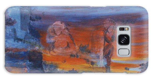 A Mystery Of Gods Galaxy Case by Steve Karol