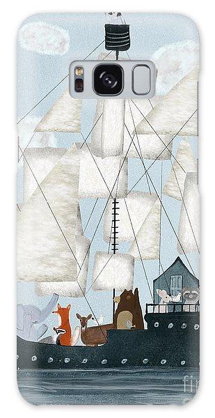 Tall Galaxy Case - A Nautical Adventure by Bri Buckley